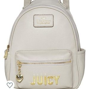 Juicy couture backpack + bracelet